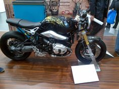Custom 9T at MotoPark show in Moscow - BMW NineT Forum