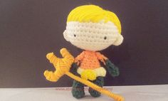 Aquaman 4inches PDF amigurumi crochet pattern by crohetami on Etsy, $5.00