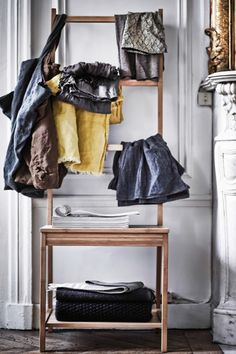 Showing off your character is the most important thing. Pull your favourite things out of drawers and hang them out giving them enough space to make a strong expression.