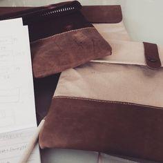 FRIDODESIGN.COM - Trabajando en un nuevo producto #comingsoon #workinprogress #leather