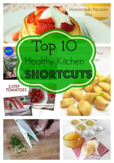 Spend less time in the kitchen and get meals on the table faster with these 10 tips! #healthyshortcuts from Super Healthy Kids