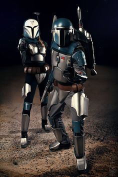 For Mandalore! – Awesome Mandalorian Cosplay Duo by Kimette and Jef [Picture Gallery]