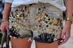 Faça você mesmo   Dicas e ideias de shorts customizados
