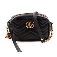42de2845161 Gucci Marmont Matelassé Mini Cross Body Bag Gucci Marmont Matelasse