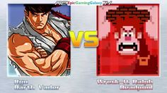 Darth Vader The Sith Lord And Ryu VS Wreck-It Ralph And Deadpool In A MUGEN Match / Battle / Fight This video showcases Gameplay of Ryu From The Street Fighter Series And Darth Vader The Sith Lord From The Star Wars Series VS Wreck-It Ralph And Deadpool In A MUGEN Match / Battle / Fight