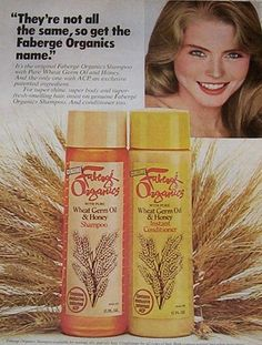 Fabrege' Organics Wheat Germ Oil & Honey Shampoo and Conditioner.