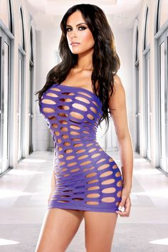 Leave little to the imagination with this hip hugging Pothole mini tube dress which is made in an easy care seamless nylon spandex - Available @ sexymeboutique.com