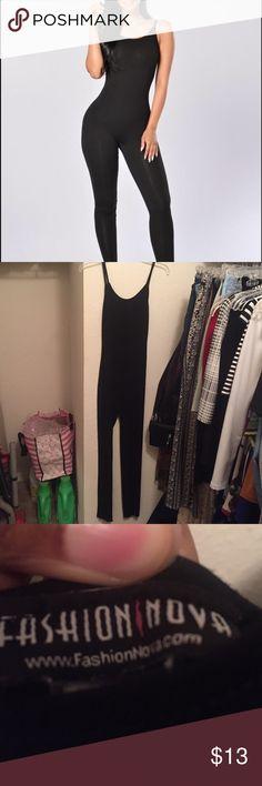 Nova season jumpsuit Worn twice perfect condition super soft and comfy - originally $22 plus shipping. Fashion Nova Pants Jumpsuits & Rompers