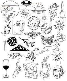 pin up drawings old school / pin up drawings ` pin up drawings pencil ` pin up drawings realistic ` pin up drawings vintage ` pin up drawing sketches ` pin up drawings modern ` pin up drawings black and white ` pin up drawings old school Doodle Tattoo, Kritzelei Tattoo, Dog Tattoos, Cute Tattoos, Doodle Art, Tattoo Drawings, Body Art Tattoos, Small Tattoos, Tattoo Sketches