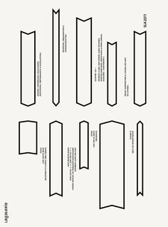 LAGALERIE  Foldout invitation to annual book fair by Emanuel Cohen