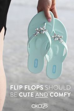 162136921 Flip flops should be both cute and comfy. With arch support and designed  for stability