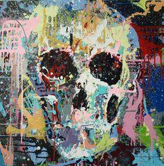 "Natxo Frisuelos; Acrylic, 2011, Painting ""splash"""