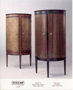 DEMILUNE BAR CABINET, 99X48X198H - Marco Polo - Antiques online -