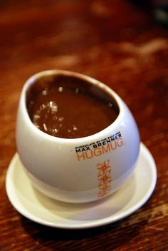 "I would love a ""hug mug"" full of Max Brenner Italian Thick Hot Chocolate right now."