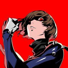 in at 104 hours I have beaten Persona and I feel so empty now. Playing Persona can always make me so happy when I've been havi Persona 5 Makoto, Persona 5 Anime, Persona 4, Makoto Niijima, Shin Megami Tensei Persona, Girls Anime, Akira, Anime Manga, Anime Art