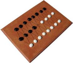 Awithlaknannal: ancient board game from New Mexico derivated from Alquerque.