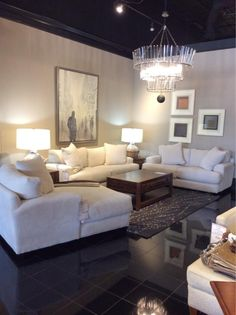 Stop by our 2411 Post Oak Blvd. location TODAY to browse this gorgeous new living room set and more! Our showrooms are full of stunning styles we know you'll want in your home TODAY! | Houston TX | Gallery Furniture |