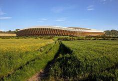 Galería de Zaha Hadid Architects diseñará estadio construido en madera para equipo de fútbol inglés - 4