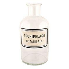 "Archipelago Botanicals Apothecary Diffuser Bottle - 6.5""h x 3""l x 3""w."
