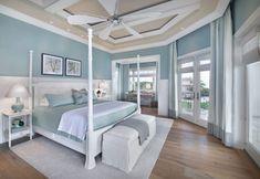Pale Blue Bedrooms, Blue Bedroom Paint, Blue Master Bedroom, Coastal Bedrooms, Blue Rooms, Bedroom Colors, Bedroom Decor, Bedroom Furniture, Bedroom Ideas