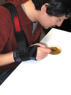 Introduction This is an instruction on how to make an assistive dining device for people with limited or no arm strength (such as Muscular Dystrophy or ALS) but...