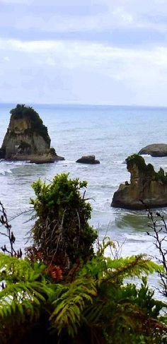 Motukiekie Beach on the West Coast of New Zealand