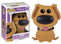 Disney's Up! Dug the Dog Pop! Vinyl Figure