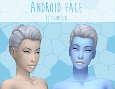 Lana CC Finds - osimllia: Here's a new android themed face tattoo. Sims 4 Cas, Sims Cc, Android Art, Android Design, Wallpapers Android, Android Hacks, Tumblr Sims 4, Sims 4 Tattoos, Sims 4 Cc Skin