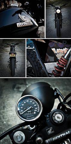 The Bullitt: Honda FTR223 'Yakuza' Street Tracker