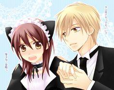 Usui and Misaki 💖 Misaki, Usui, Best Romantic Comedy Anime, Okikagu, Kaichou Wa Maid Sama, Manga, Fan Art, Drawings, Comic