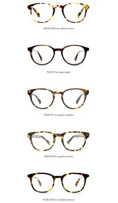 Warby Parker glasses // (I need a new pair of glasses oh so badly!)