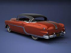 A Garagem Digital de Dan Palatnik | The Digital Garage Project: 1954 Pontiac Chieftain Custom Catalina