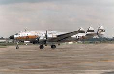 C-121 Military Lockheed Constellation.
