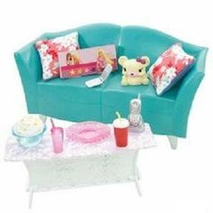 Barbie My House Basic Furniture Barbie House Couch Beautiful Barbie Dolls, Barbie Dream, Barbie House, Baby Girl Toys, Toys For Girls, Barbie Kids, Barbie Playsets, Barbie Doll Accessories, Sofa Set Designs