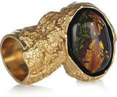 Yves Saint Laurent Arty Gold-Plated Glass Ring    Price: $250.00 at net-a-porter.com  This ring is a status symbol as much as it is an icon. The ring of choice for fashion bloggers, this …