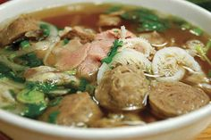 I could eat beef noodle pho any day, at any time.