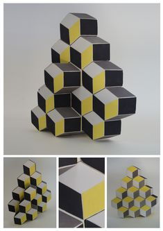 Optical İllusions on ceramic surface