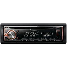 Pioneer Single-din In-dash Cd Receiver With Mixtrax Bluetooth Siri Eyes Free Usb Pandora Internet Radio Ready Android Music Support With Aoa 2.0 & Color Customization