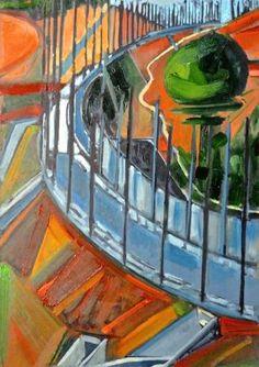 LGV in Painted Landscape
