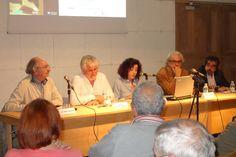 Luis García Jambrina, en la presentación del libro: Conversaciones íntimas de Teresa De Jesús de Quintín García González, en el Salón de Actos de la Biblioteca el 30 de septiembre de 2015.