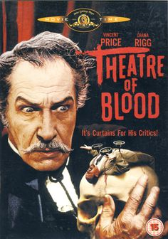 one of my fave actors and top ten camp horror films. love. Vincent Price, Theatre of Blood (1973).