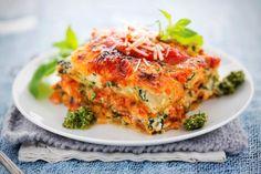 Lasagna cu legume pentru o masa calda si hranitoare