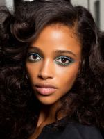 10 Spring Beauty Trends To Start Wearing NOW #refinery29  http://www.refinery29.com/spring-beauty-color-trends#slide-38  This is the perfect way to hide your bangs when they start to grow out. ...