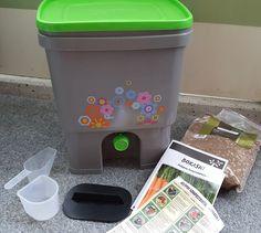 Bokashi-kompostori parvekkeelle... Bokashi, Canning, Home Canning, Conservation