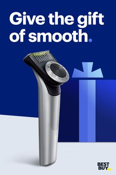 Your gift list will look and feel great with a Norelco OneBlade Pro Trimmer, for a close shave without the irritation.