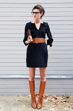 big belts and boots brown black