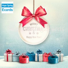 Buy Merry Christmas Card with a Ribbon and Gift Boxes by almoond on GraphicRiver. Merry Christmas Card With A Ribbon And Gift Boxes Vector Fully editable, vector objects separated and grouped, gradie. Christmas Ecards, Merry Christmas Card, Christmas Images, Christmas Design, Christmas Fun, Christmas Bulbs, Victorian Christmas, Vintage Christmas, Graphics Fairy