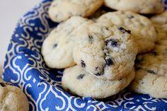 Blueberry Cream Cheese Cookies