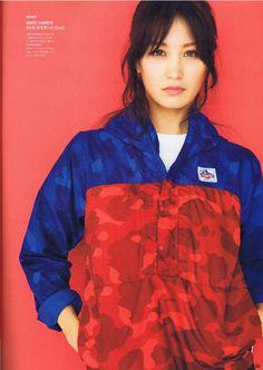 Eimi Kuroda for Bape.