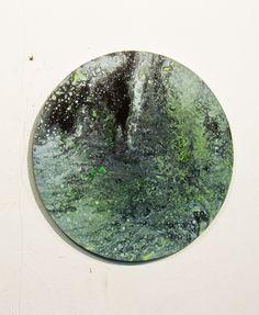 POUR PAINTING by Azucena González, via Behance  #marble #porpainting #contemporany #art